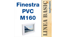 Finestra in PVC linea BASIC